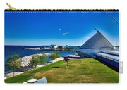 The Milwaukee Art Museum On Lake Michigan Carry-all Pouch