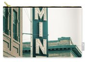 The Mint Classic Neon Sign Livingston Montana Carry-all Pouch