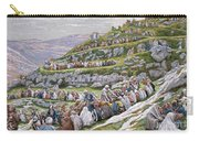 The Miracle Of The Loaves And Fishes Carry-all Pouch by Tissot