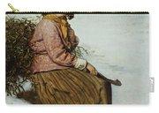 The Mistletoe Gatherer Carry-all Pouch