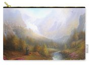 The Misty Mountains Carry-all Pouch by Joe  Gilronan