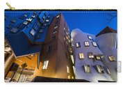 The Mit Stata Center At Night Kendall Square Cambirdge Ma Moon Front Carry-all Pouch