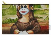 The Monkey Lisa Carry-all Pouch