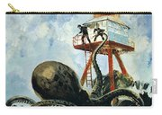 The Monster Of Serrana Cay Carry-all Pouch by Graham Coton