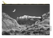 The Moon And The Mountain Range Carry-all Pouch