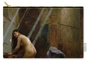 The Moorish Bath Carry-all Pouch by Jean Leon Gerome