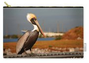 The Most Beautiful Pelican Carry-all Pouch by Susanne Van Hulst