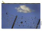 The Musical Barbed Wire Birds Carry-all Pouch