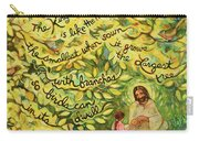 The Mustard Seed Carry-all Pouch