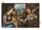 The Mystic Marriage Of Saint Catherine Carry-all Pouch