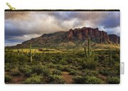 The Mystical Beauty Of The Superstitions  Carry-all Pouch