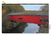 The Narrows Covered Bridge At Dusk Carry-all Pouch