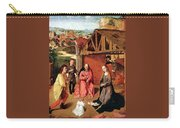 The Nativity By Gerard David  Carry-all Pouch