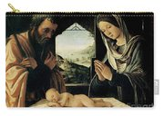 The Nativity Carry-all Pouch by Lorenzo Costa