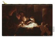 The Nativity Carry-all Pouch by Pierre Louis Cretey or Cretet
