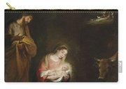 The Nativity With The Annunciation To The Shepherds Beyond Carry-all Pouch