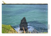 The Needle Off The Cliff's Of Moher In Ireland Carry-all Pouch