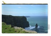 The Needle Rock Formation On The Cliff's Of Moher Carry-all Pouch