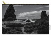 The Needles Black And White Carry-all Pouch