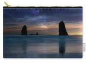 The Needles Rocks Under Starry Night Sky Carry-all Pouch