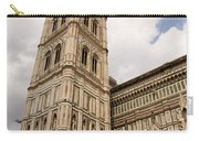 The Neo Gothic Facade Of The Duomo In Florence Carry-all Pouch
