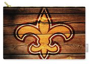 The New Orleans Saints 3b Carry-all Pouch