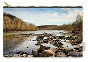 The New River At Whitt Riverbend Park - Giles County Virginia Carry-all Pouch