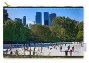 The New York Central Park Ice Rink  Carry-all Pouch