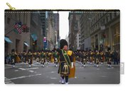 The New York City Police Emerald Society Pipe And Drum Corps Carry-all Pouch