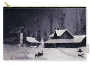 The Night Before Christmas Silvertoned Carry-all Pouch
