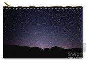 The Night Landscape View And The Stars At Tuttle Creek, Lone Pin Carry-all Pouch