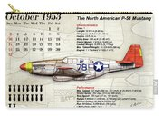 The North American P-51 Mustang V1 Carry-all Pouch