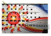 The Norwegian Sun Bow Carry-all Pouch by Susanne Van Hulst