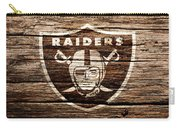 The Oakland Raiders 1f Carry-all Pouch