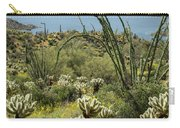 The Ocotillo View Carry-all Pouch