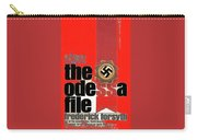 The Odessa File Frederick Forsyth Book Cover 1972 Color Added 2016 Carry-all Pouch