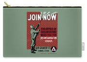 The Office Of Civilian Defense Needs You - Wpa Carry-all Pouch