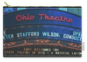 The Ohio Theatre - Columbus, Ohio Carry-all Pouch