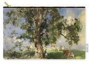 The Old Ash Tree Carry-all Pouch by Edward Arthur Walton