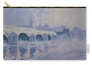 The Old Bridge In Morning Fog Maastricht Carry-all Pouch