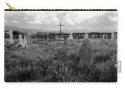 The Old Cemetery At Galisteo Carry-all Pouch