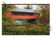 The Old Creamery Covered Bridge Carry-all Pouch