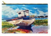 The Old Fishing Boat Carry-all Pouch