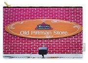 The Old Pittman Store Sign Carry-all Pouch