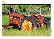 The Old Tractor In The Field Carry-all Pouch