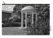 The Old Well At Chapel Hill In Black And White Carry-all Pouch