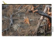 The Orange Iguana Carry-all Pouch