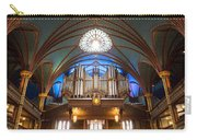 The Organ Inside The Notre Dame In Montreal Carry-all Pouch