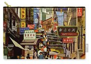 The Orient Is Hong Kong - B O A C  C. 1965 Carry-all Pouch