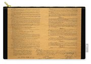 The Original United States Constitution Carry-all Pouch